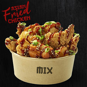 Foto Asian fried chicken Mix(10st)