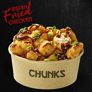Foto Asian fried chicken Chunks(10st)
